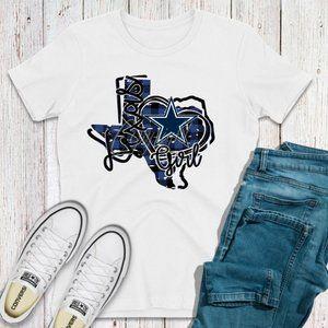 Texas girl shirt